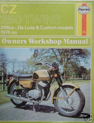 CZ 250 Twins Haynes Manual