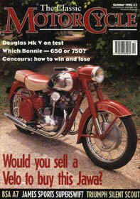 The Classic Motorcycle - October 1995 - Jawa 500 OHC