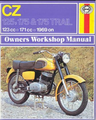 CZ 125 175 Trail Haynes Manual